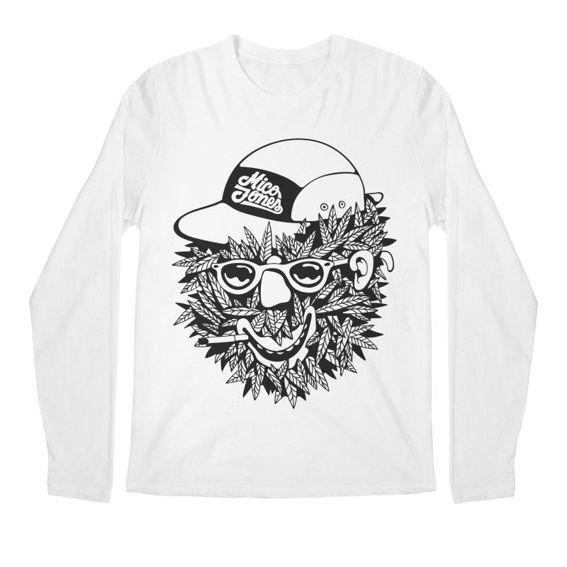 DOPE BUSH Men's Regular Longsleeve T-Shirt by Mico Jones Artist Shop