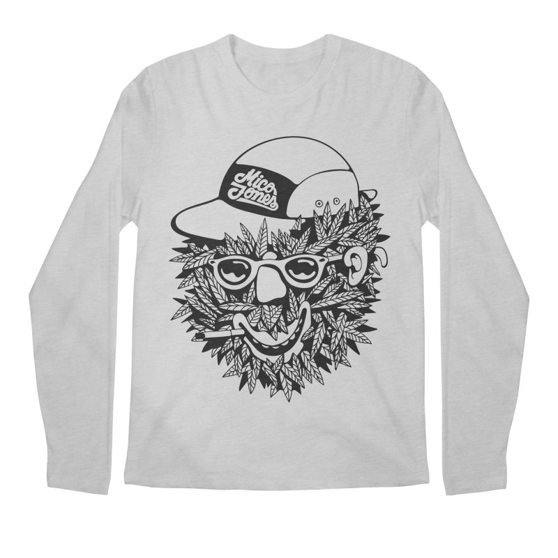 DOPE BUSH Men's Regular Longsleeve T-Shirt by Mico Jones Artist Shop