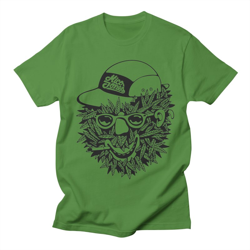 DOPE BUSH Men's T-Shirt by Mico Jones Artist Shop