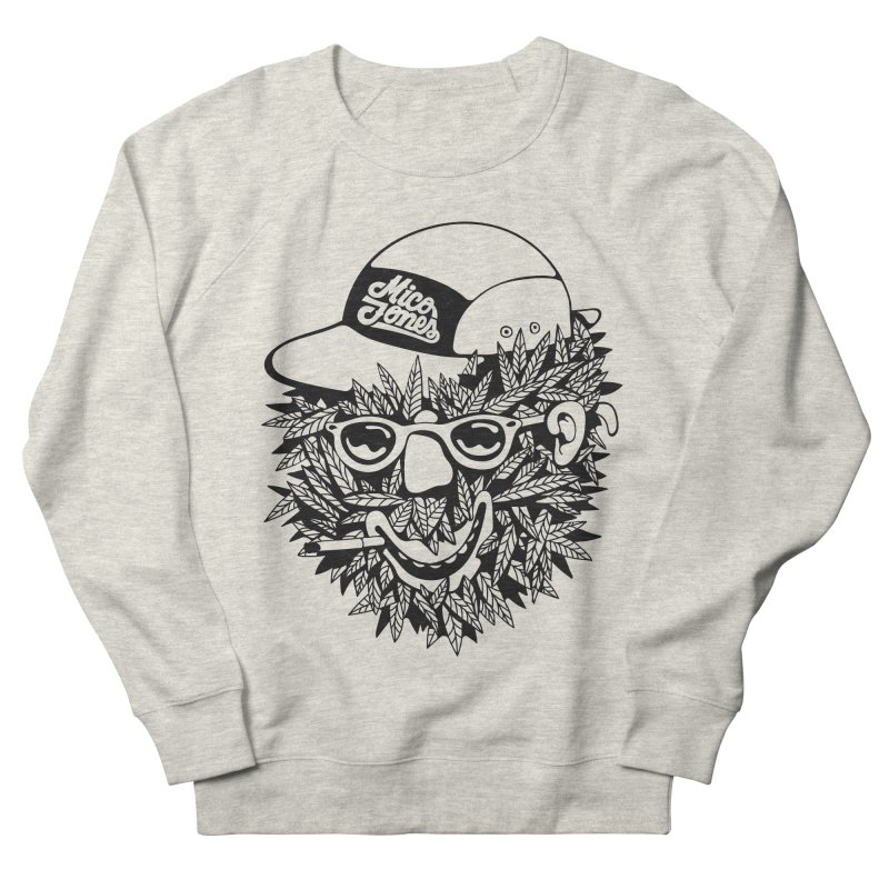 DOPE BUSH Women's French Terry Sweatshirt by Mico Jones Artist Shop
