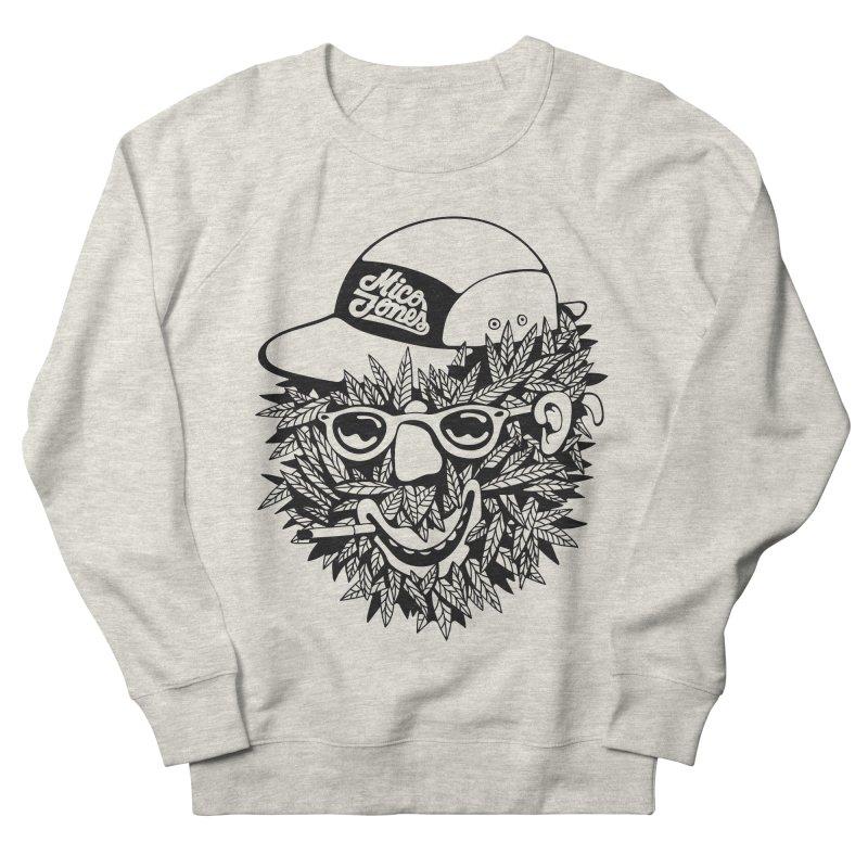 DOPE BUSH Men's French Terry Sweatshirt by Mico Jones Artist Shop