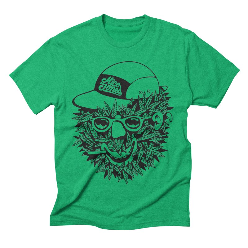 DOPE BUSH Men's Triblend T-Shirt by Mico Jones Artist Shop