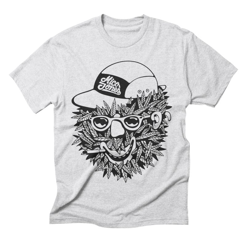DOPE BUSH Men's Triblend T-Shirt by Mico Jones Artist Shop
