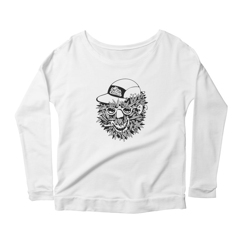 DOPE BUSH Women's Longsleeve T-Shirt by Mico Jones Artist Shop