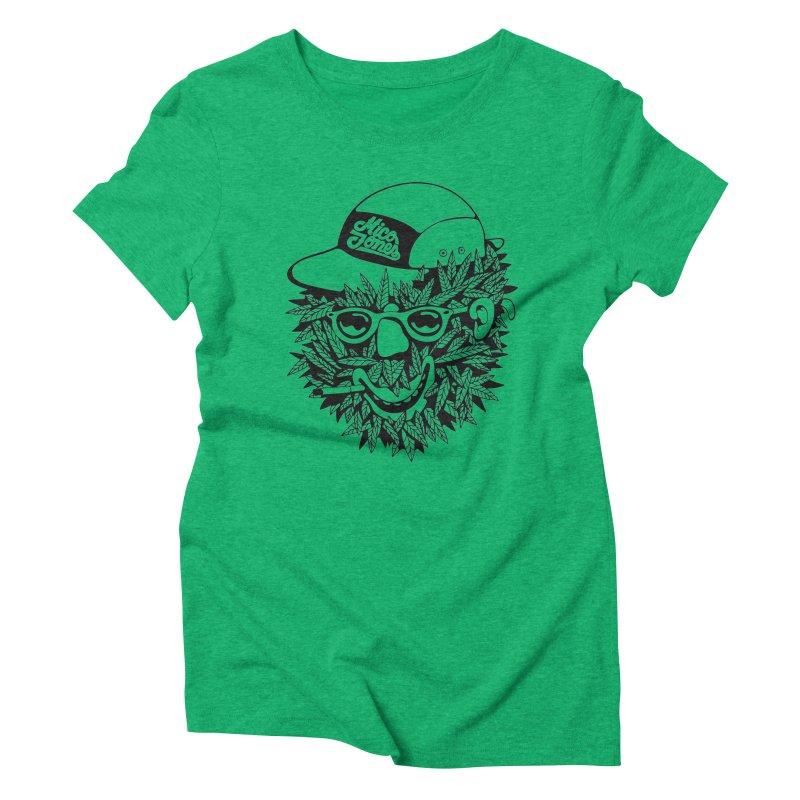 DOPE BUSH Women's Triblend T-Shirt by Mico Jones Artist Shop