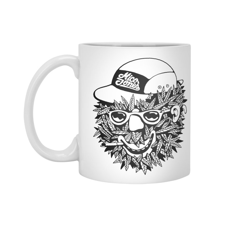 DOPE BUSH Accessories Standard Mug by Mico Jones Artist Shop
