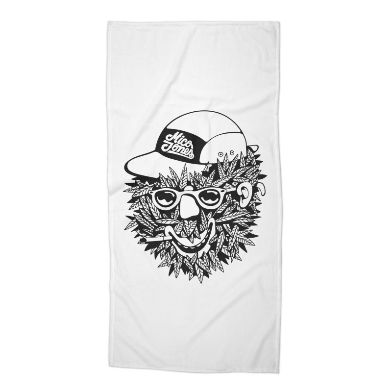 DOPE BUSH Accessories Beach Towel by Mico Jones Artist Shop
