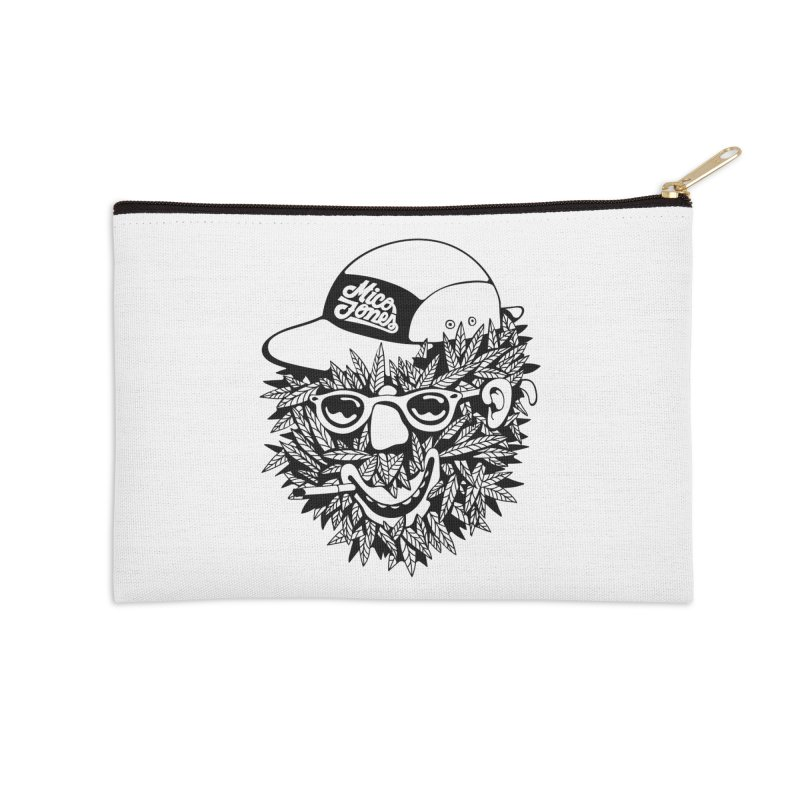 DOPE BUSH Accessories Zip Pouch by Mico Jones Artist Shop