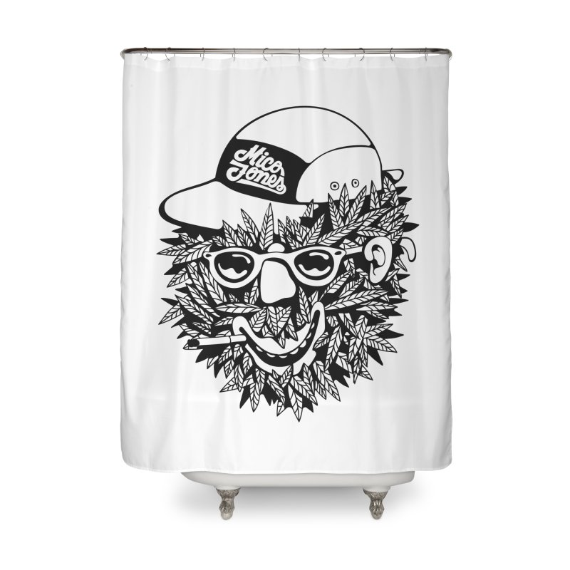 DOPE BUSH Home Shower Curtain by Mico Jones Artist Shop