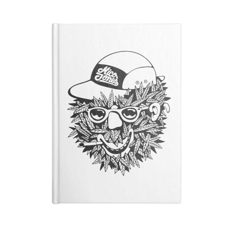 DOPE BUSH Accessories Notebook by Mico Jones Artist Shop