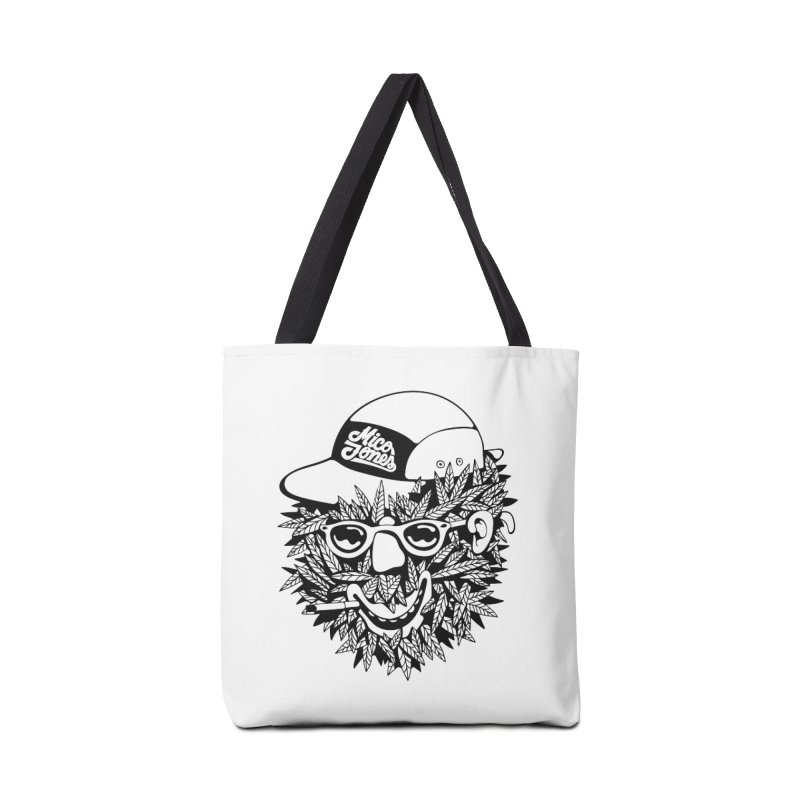 DOPE BUSH Accessories Tote Bag Bag by Mico Jones Artist Shop