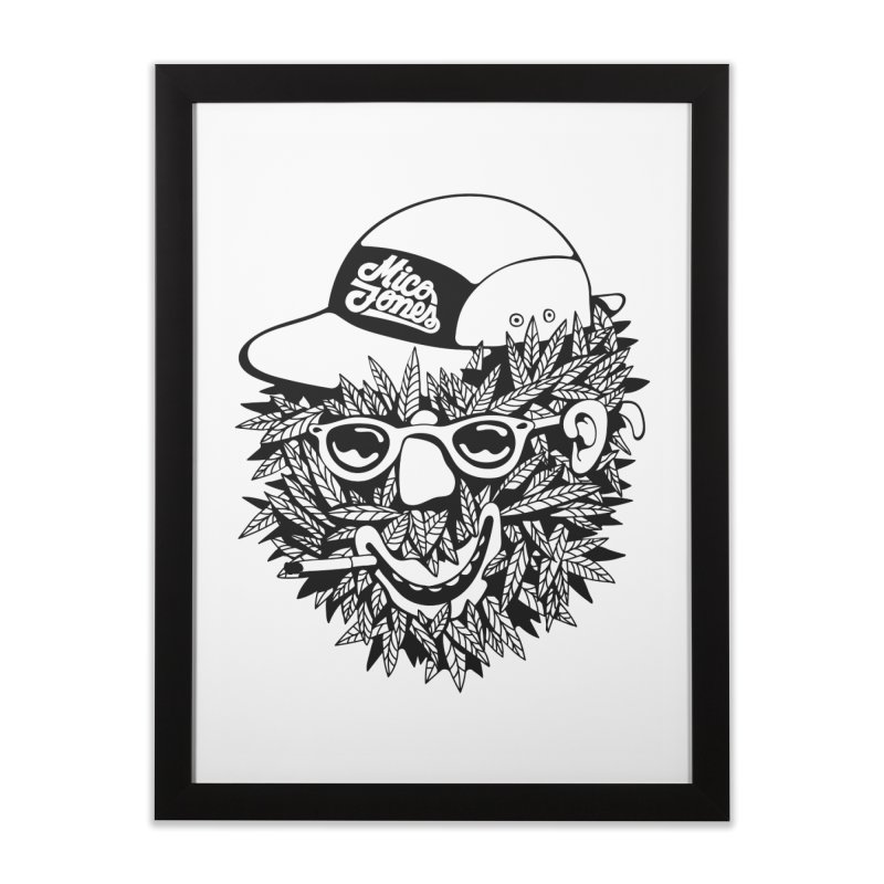 DOPE BUSH Home Framed Fine Art Print by Mico Jones Artist Shop
