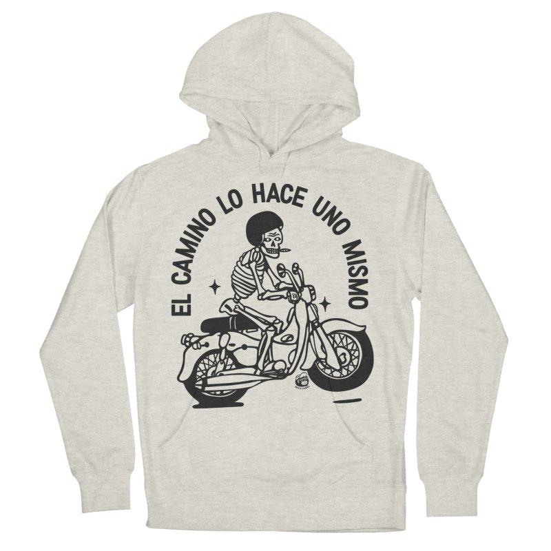 EL CAMINO WHITE Men's Pullover Hoody by Mico Jones Artist Shop