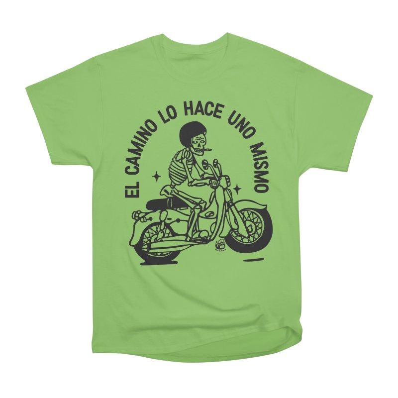 EL CAMINO WHITE Women's Heavyweight Unisex T-Shirt by Mico Jones Artist Shop