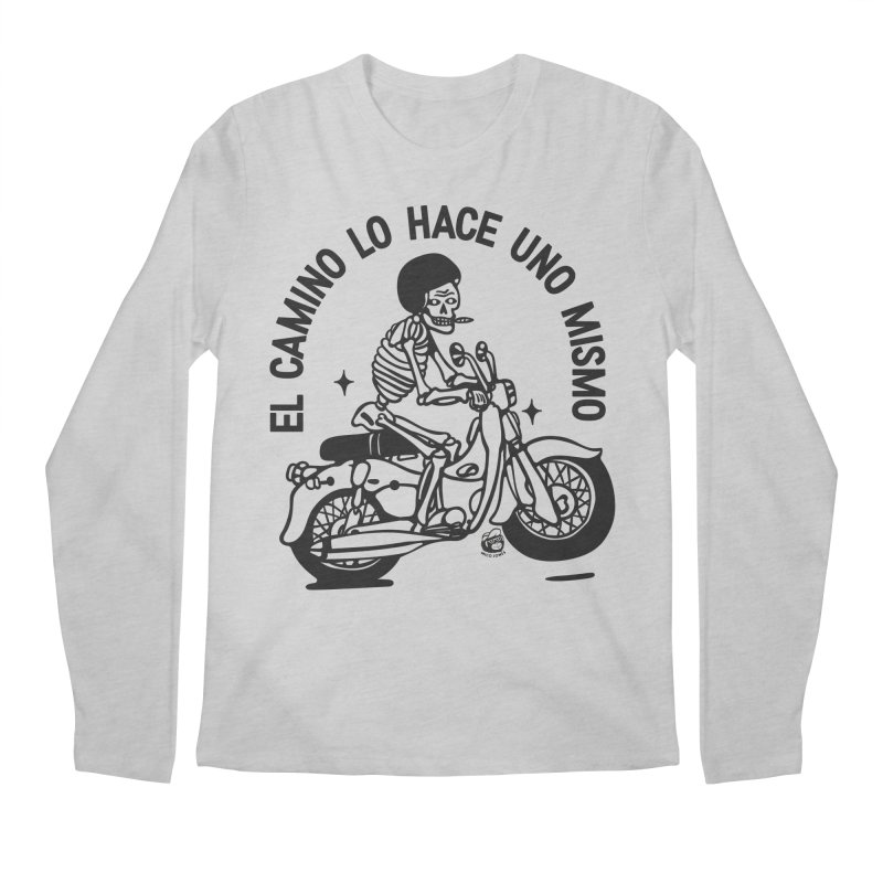 EL CAMINO WHITE Men's Regular Longsleeve T-Shirt by Mico Jones Artist Shop