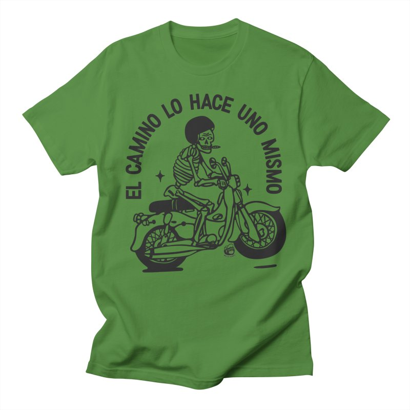 EL CAMINO WHITE Women's Regular Unisex T-Shirt by Mico Jones Artist Shop