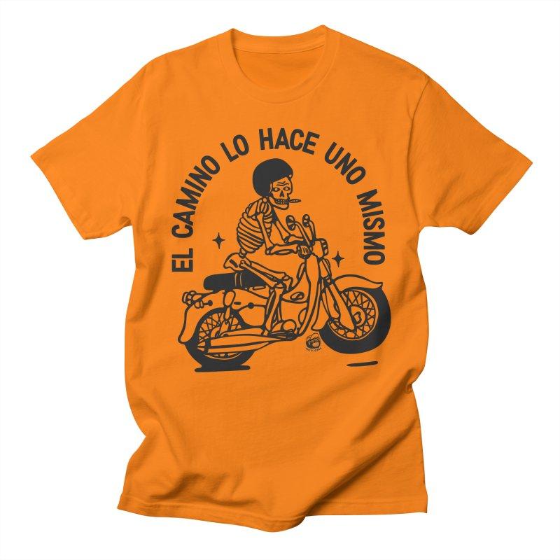 EL CAMINO WHITE Men's T-Shirt by Mico Jones Artist Shop