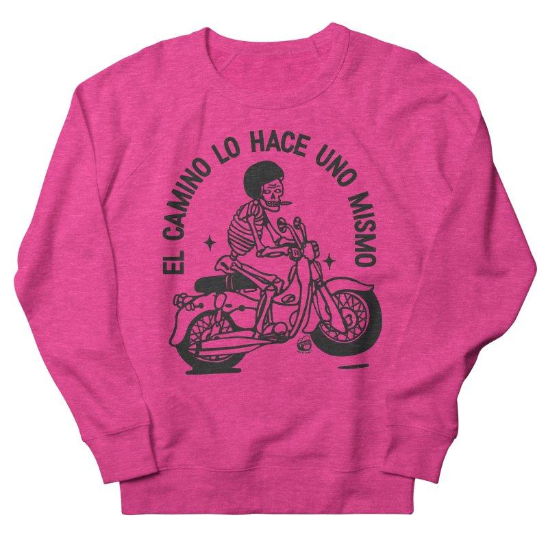 EL CAMINO WHITE Women's Sweatshirt by Mico Jones Artist Shop