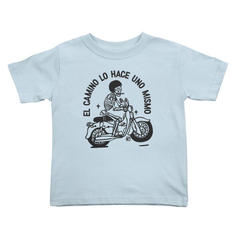 EL CAMINO WHITE Kids Toddler T-Shirt by Mico Jones Artist Shop