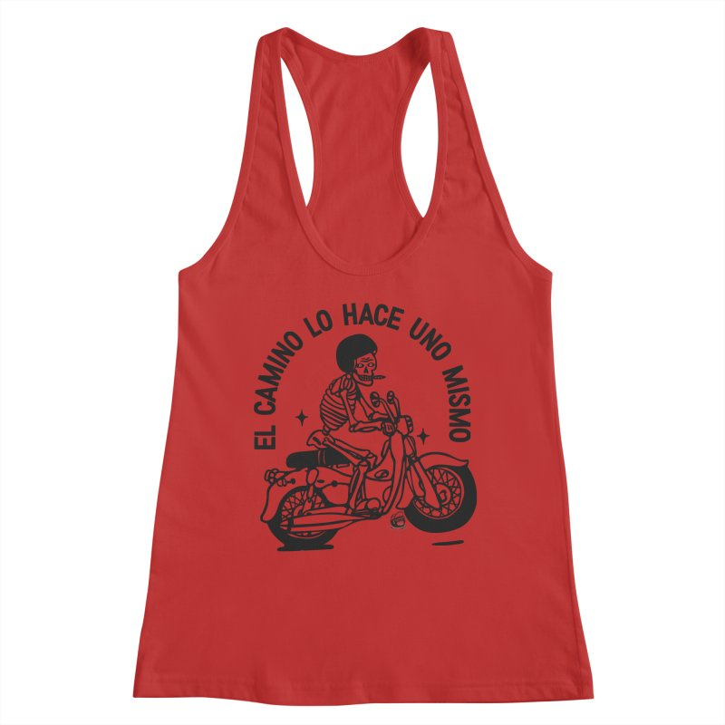 EL CAMINO WHITE Women's Tank by Mico Jones Artist Shop