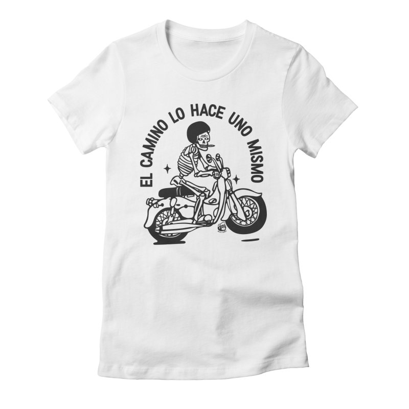 EL CAMINO WHITE Women's T-Shirt by Mico Jones Artist Shop