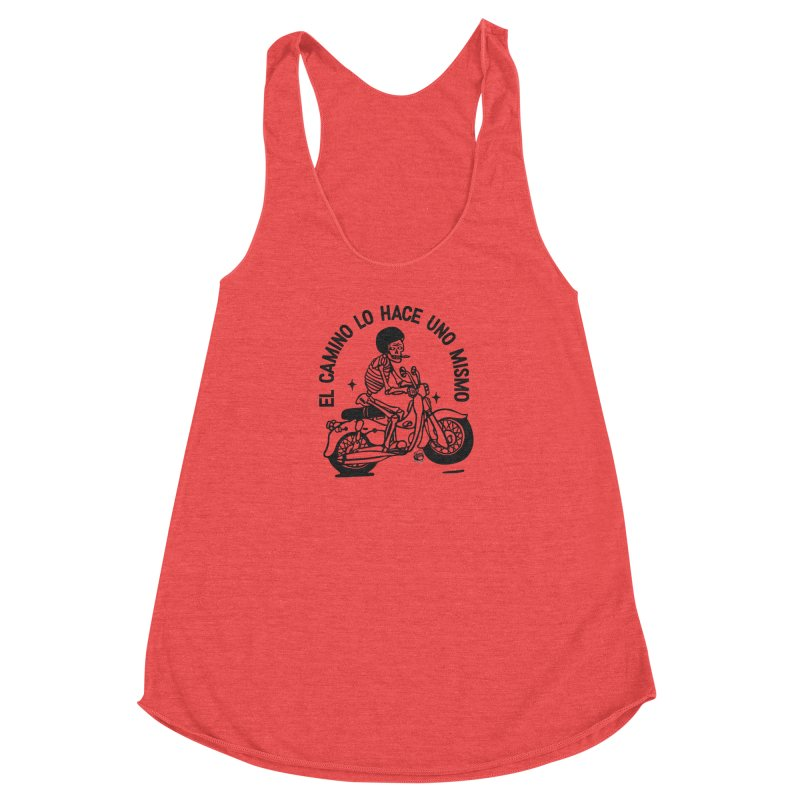 EL CAMINO WHITE Women's Tank by Mico Jones Artist Shop