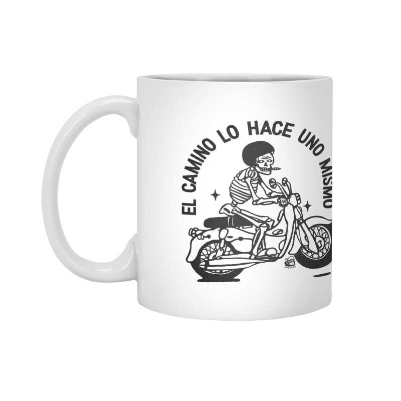 EL CAMINO WHITE Accessories Mug by Mico Jones Artist Shop