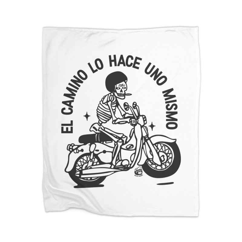 EL CAMINO WHITE Home Blanket by Mico Jones Artist Shop