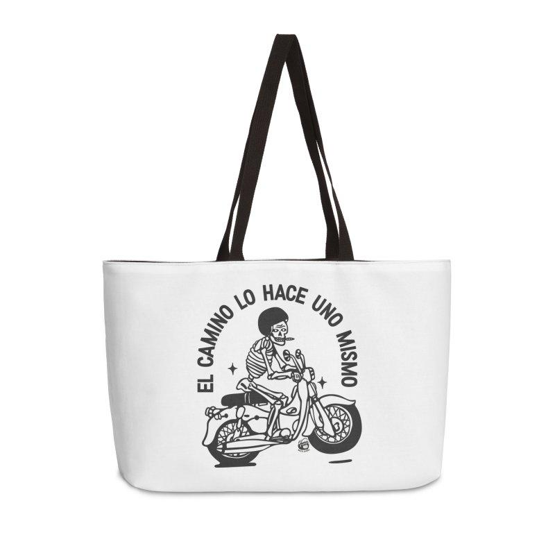 EL CAMINO WHITE Accessories Bag by Mico Jones Artist Shop
