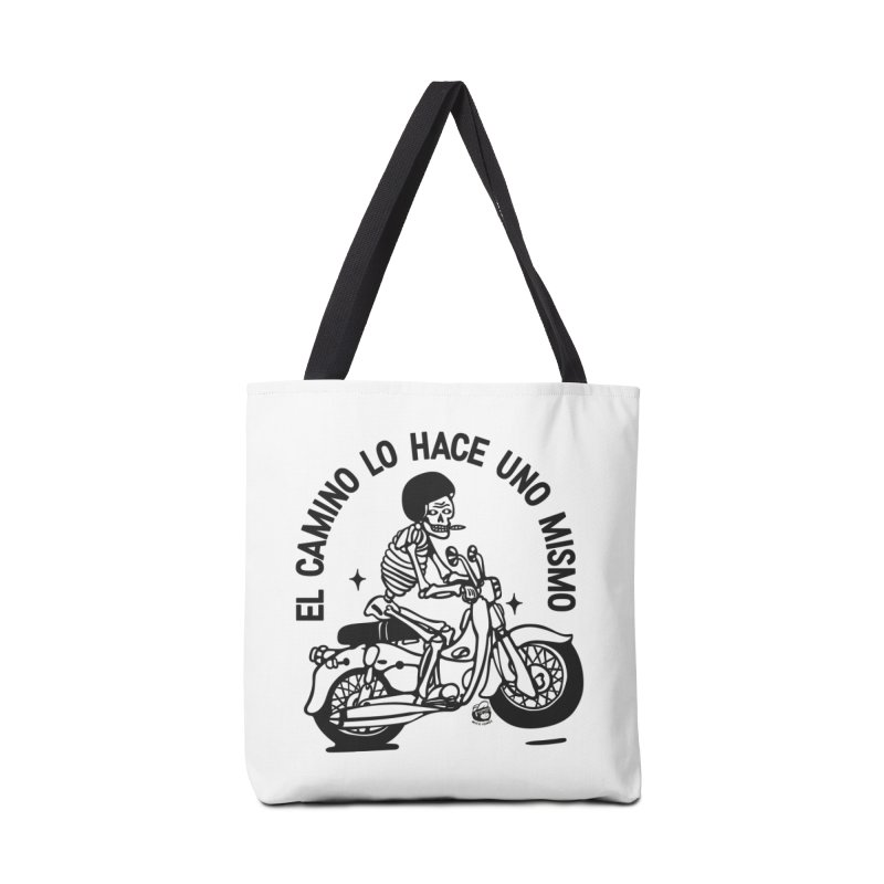 EL CAMINO WHITE Accessories Tote Bag Bag by Mico Jones Artist Shop