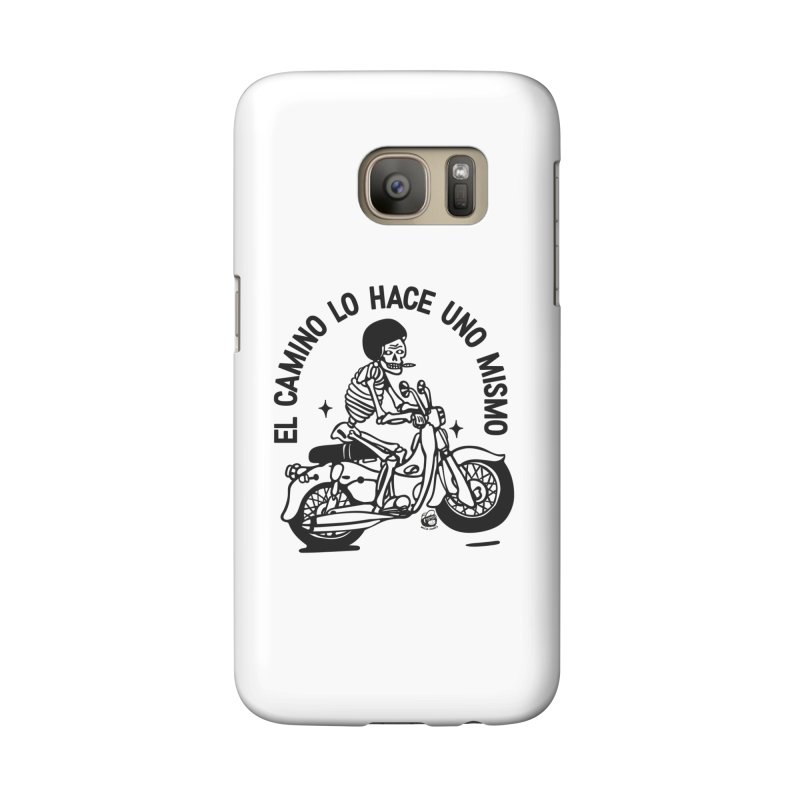 EL CAMINO WHITE Accessories Phone Case by Mico Jones Artist Shop