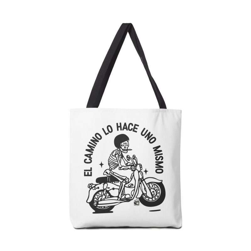 EL CAMINO WHITE Accessories Bag by Mico Jones Artist Shop