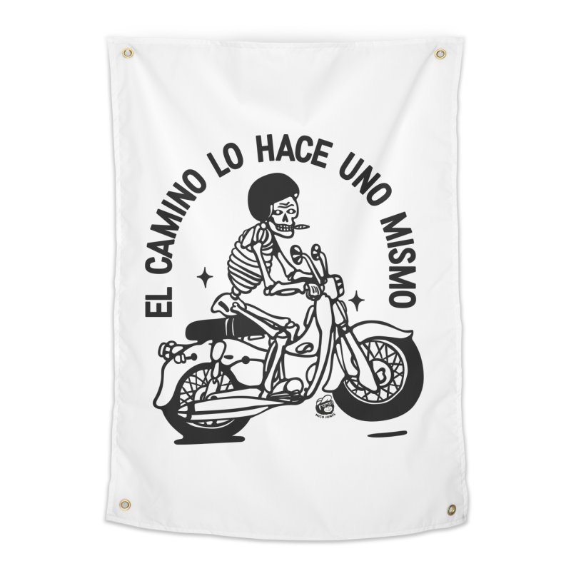 EL CAMINO WHITE Home Tapestry by Mico Jones Artist Shop