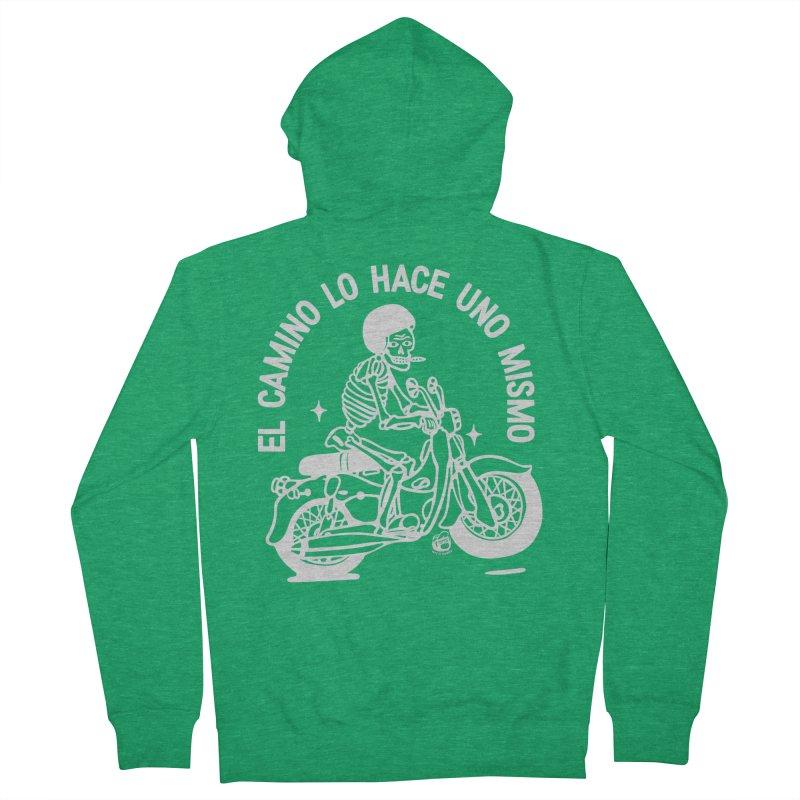 THE ROAD Men's Zip-Up Hoody by Mico Jones Artist Shop