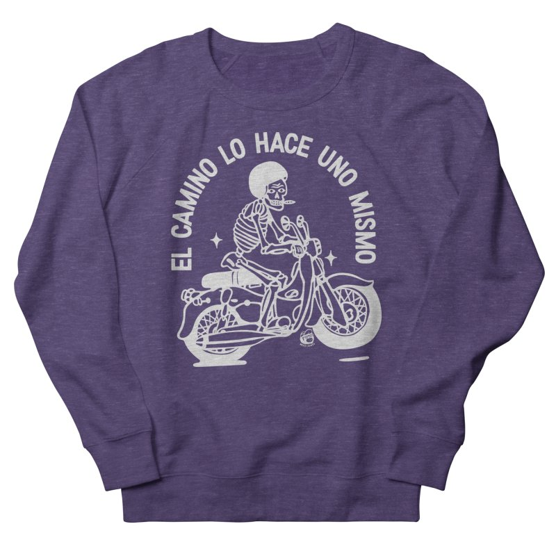 THE ROAD Men's Sweatshirt by Mico Jones Artist Shop