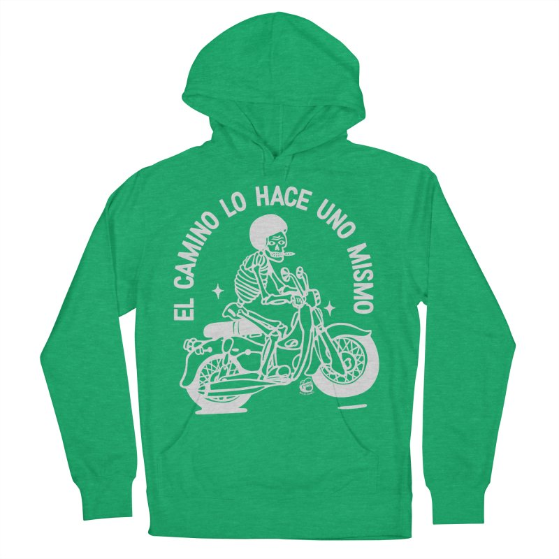 THE ROAD Women's French Terry Pullover Hoody by Mico Jones Artist Shop