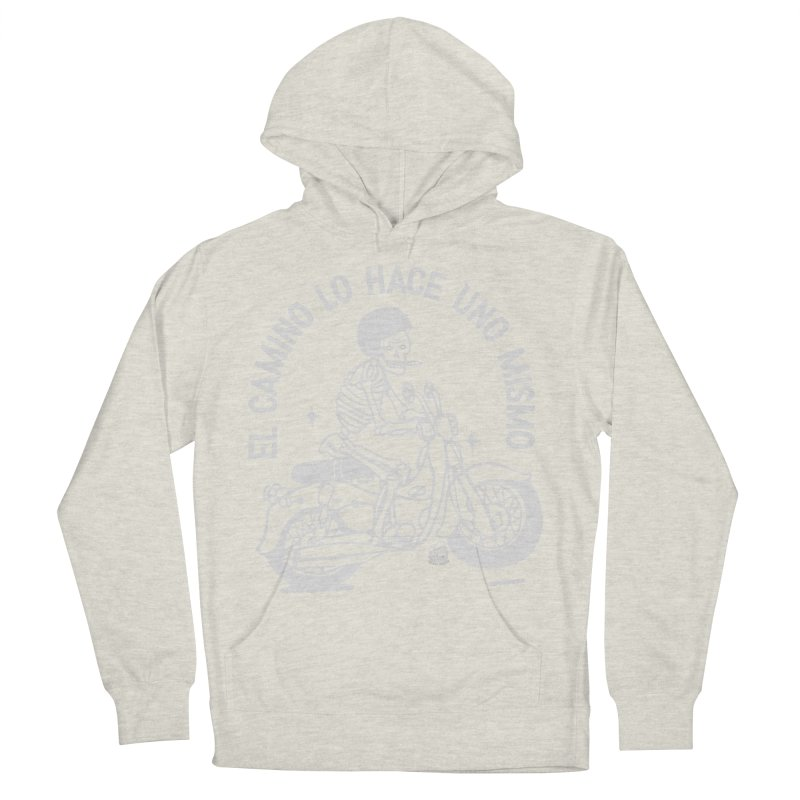THE ROAD Men's French Terry Pullover Hoody by Mico Jones Artist Shop