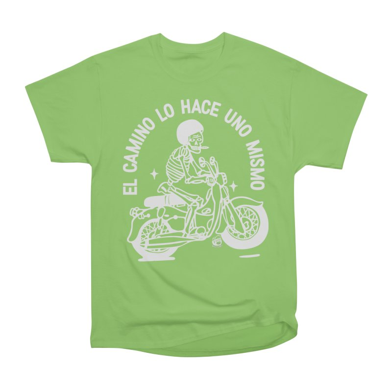 THE ROAD Men's Heavyweight T-Shirt by Mico Jones Artist Shop