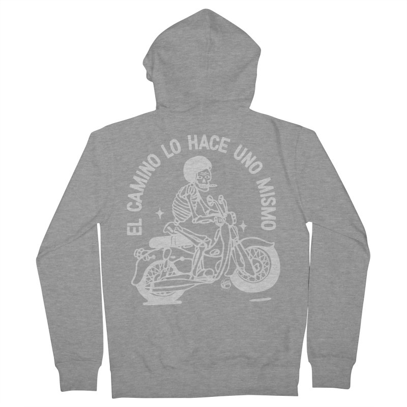 THE ROAD Women's French Terry Zip-Up Hoody by Mico Jones Artist Shop