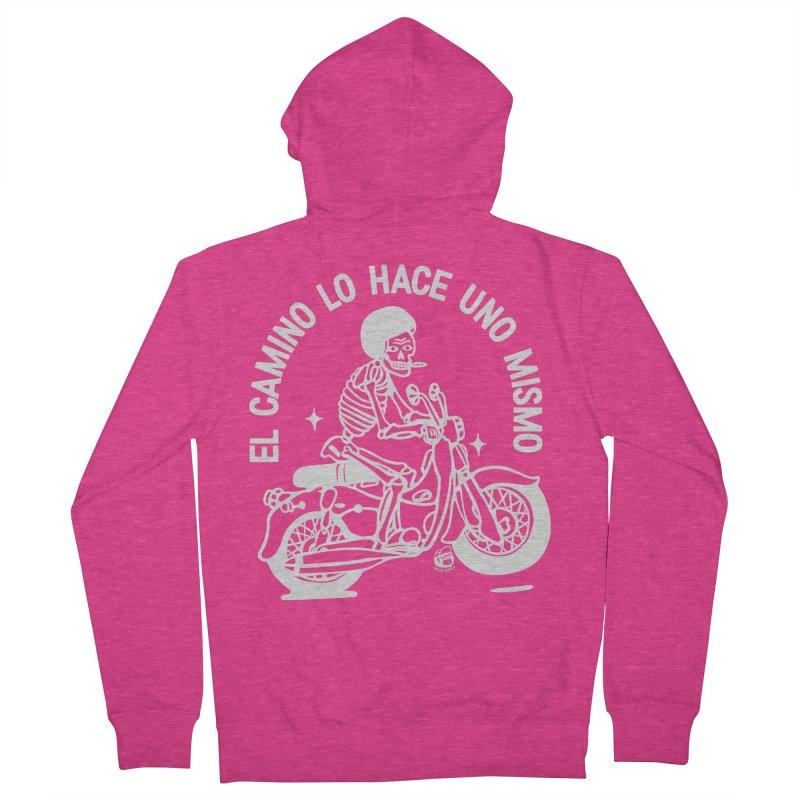 THE ROAD Women's Zip-Up Hoody by Mico Jones Artist Shop