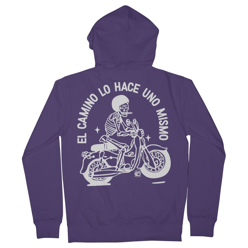 THE ROAD Women's Zip-Up Hoody by Mico Jones Artist Shop