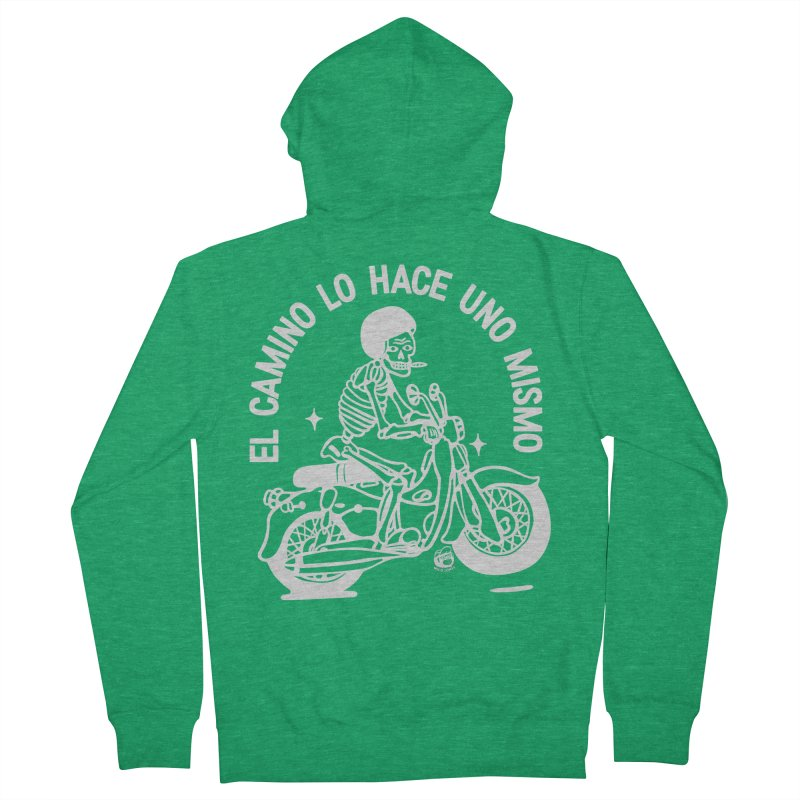 THE ROAD Men's Zip-Up Hoody by Mico Jones Artist Shop