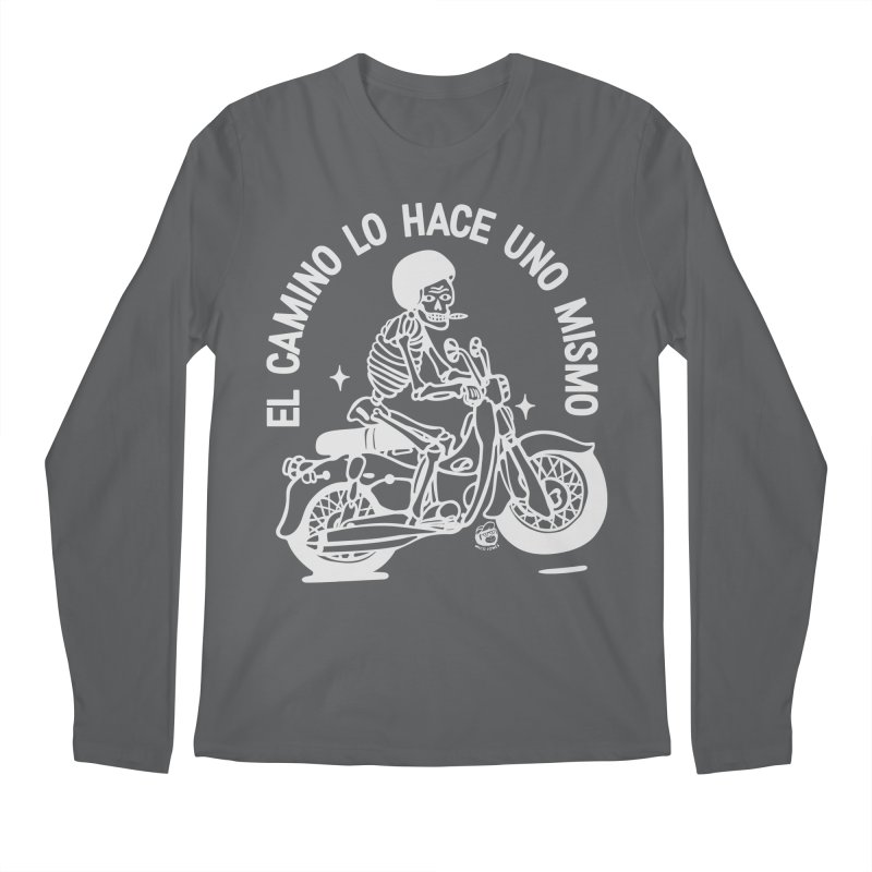 THE ROAD Men's Regular Longsleeve T-Shirt by Mico Jones Artist Shop