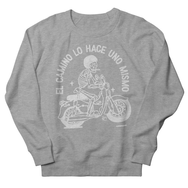 THE ROAD Women's French Terry Sweatshirt by Mico Jones Artist Shop