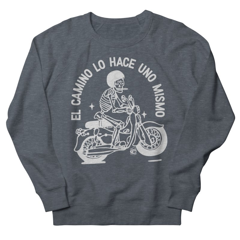 THE ROAD Men's French Terry Sweatshirt by Mico Jones Artist Shop