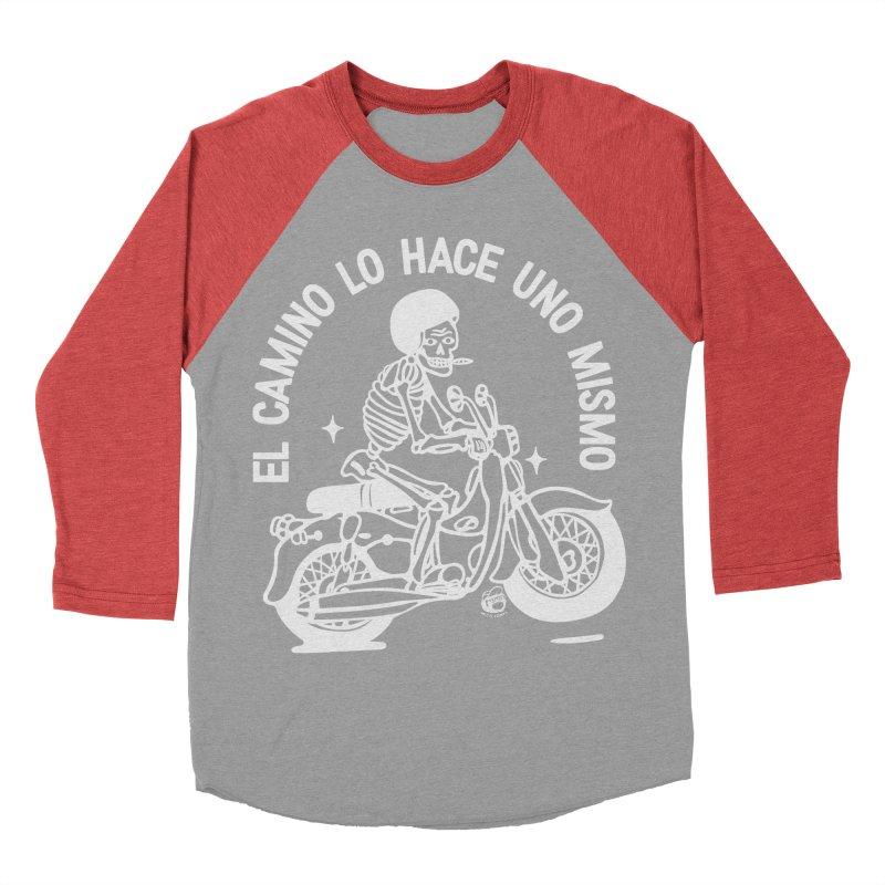 THE ROAD Women's Baseball Triblend Longsleeve T-Shirt by Mico Jones Artist Shop