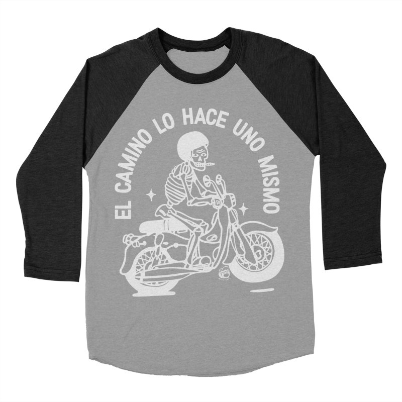 THE ROAD Women's Baseball Triblend Longsleeve T-Shirt by Mico Jones Artist Shop