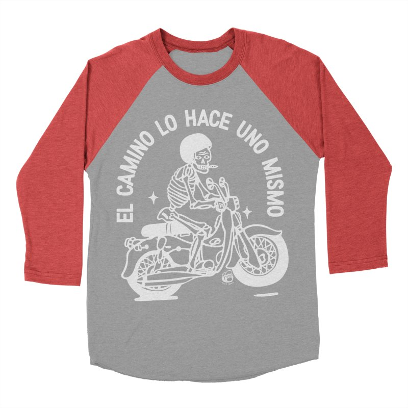 THE ROAD Men's Baseball Triblend Longsleeve T-Shirt by Mico Jones Artist Shop