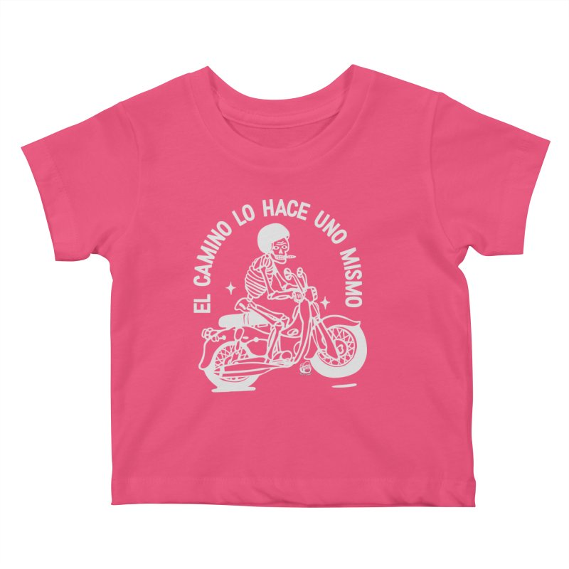 THE ROAD Kids Baby T-Shirt by Mico Jones Artist Shop