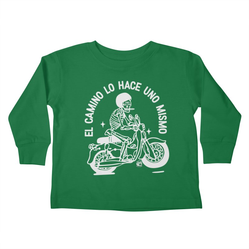 THE ROAD Kids Toddler Longsleeve T-Shirt by Mico Jones Artist Shop